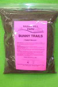 Rabbit Hill Farm Bunny Trails - Rabbit Manure - 3 qt.