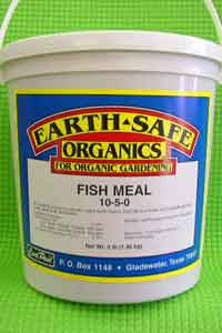 Earth Safe Organics Fish Meal Fertilizer - 3 lbs.