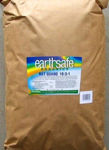 Carl Pool Earth Safe Organics Bat Guano - 25 lb, bag