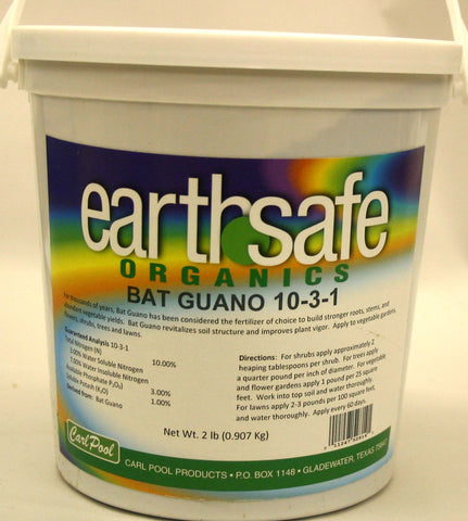 Carl Pool Earth Safe Organics Bat Guano - 2 lbs.