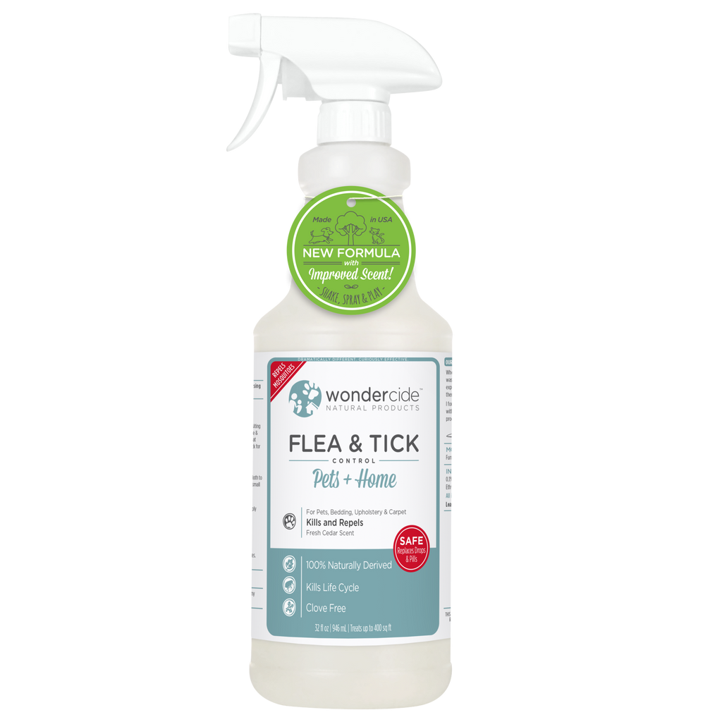 Wondercide Natural Flea & Tick Control - Fresh Cedar Scent - RTU - 32 fl. oz.