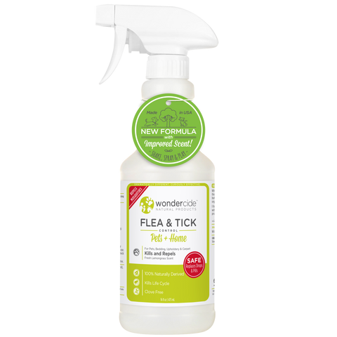 Wondercide Natural Flea & Tick Control - Fresh Lemongrass Scent - RTU - 16 fl. oz.