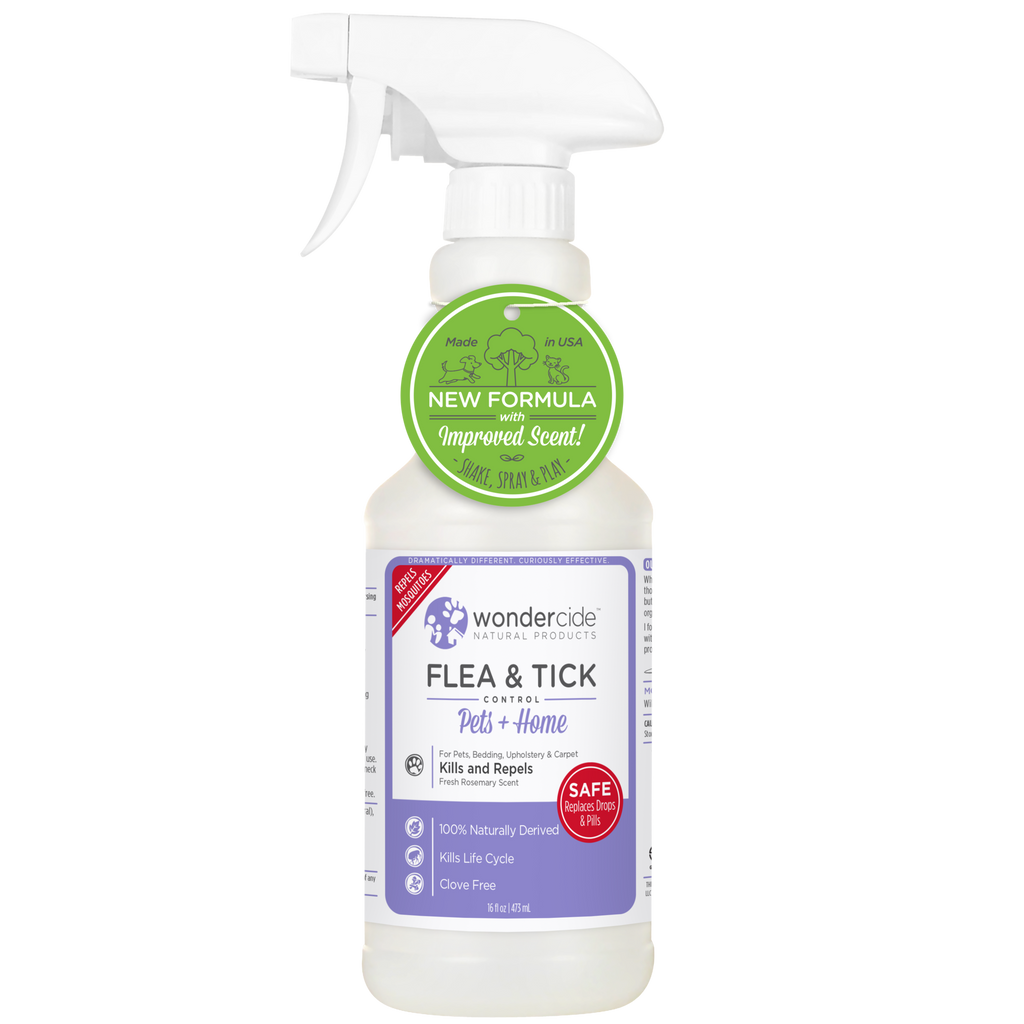Wondercide Natural Flea & Tick Control - Fresh Rosemary Scent - RTU - 16 fl. oz.
