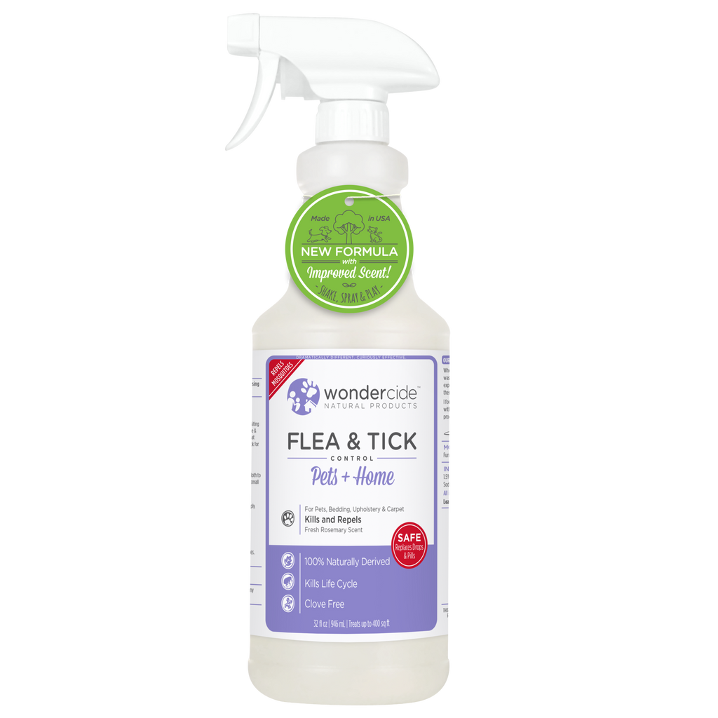 Wondercide Natural Flea & Tick Control - Fresh Rosemary Scent - RTU - 32 fl. oz.