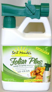 Soil Mender Foliar Plus - Hose End Sprayer (RTS) - Qt.