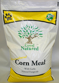 Good Natured Horticultural Corn Meal with Garlic - 30 lbs.