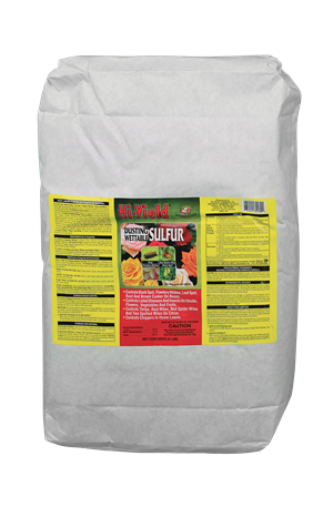 Hi-Yield Dusting/Wettable Sulfur - 25 lbs.