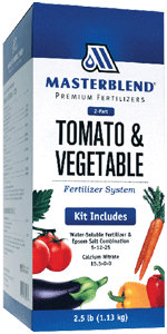 Masterblend Tomato & Vegetable Fertilizer System (Kit) - 2.5 lbs.
