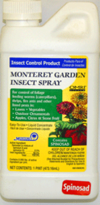 Monterey Garden Insect Spray (Spinosad) - Concentrate - pt.