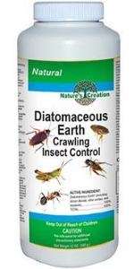 Nature's Creation Diatomaceous Earth Crawling Insect Control - 2 lbs,