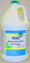 Nature's Creation Total Weed & Grass Control - 20% Vinegar (200 grain)  - gal.