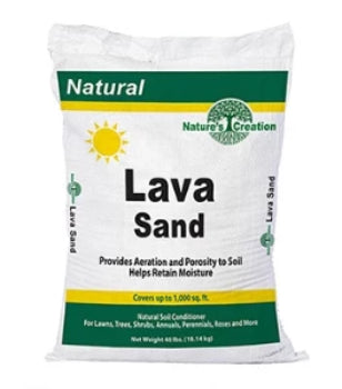 Nature's Creation Lava Sand - 40 lbs.