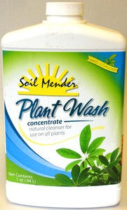 Soil Mender Organic Plant Wash - Concentrate - qt.