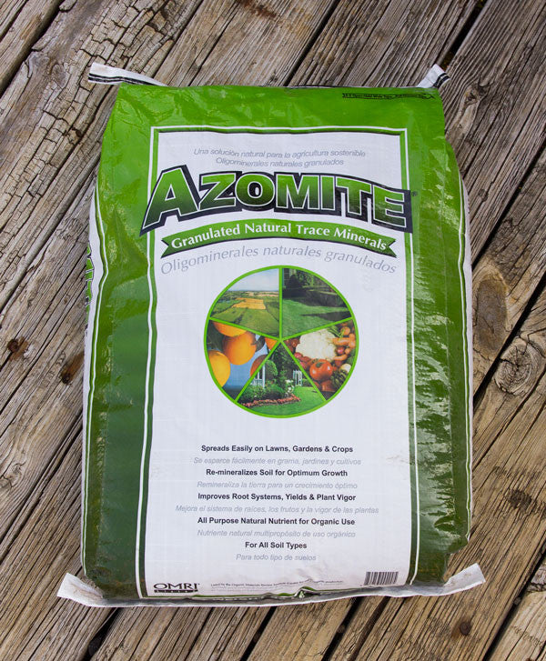 Azomite Natral Trace Minerals - Granulated - 44 lbs.