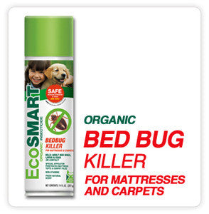 EcoSmart Organic Bed Bug Killer for Mattresses and Carpets - 14 oz. can