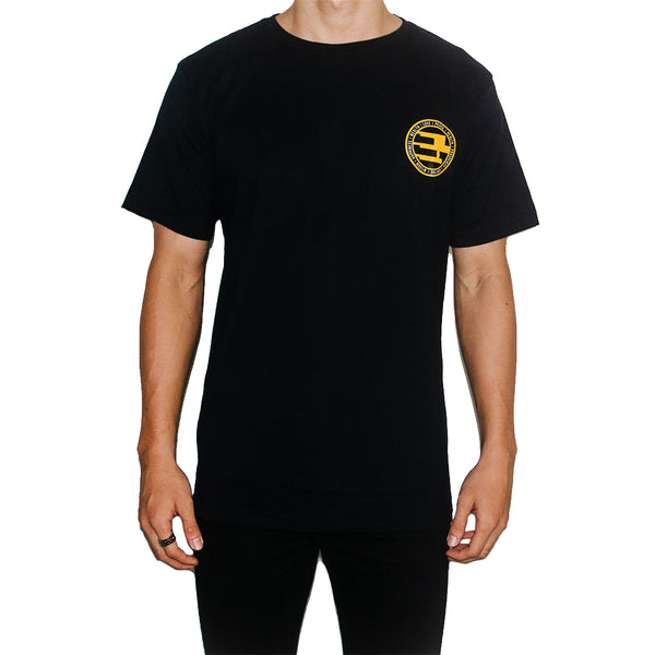GEMSY PROSPEROUS T-SHIRT [BLACK]