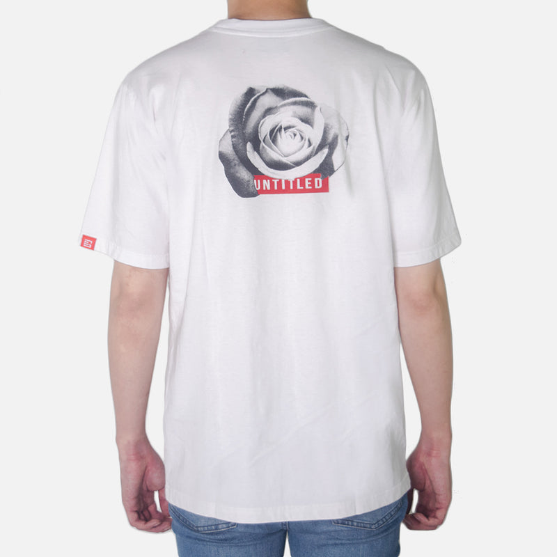 GEMSY UNTITLED ROSE T-SHIRT [WHITE]