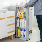 Bathroom Organizer Gap Shelves