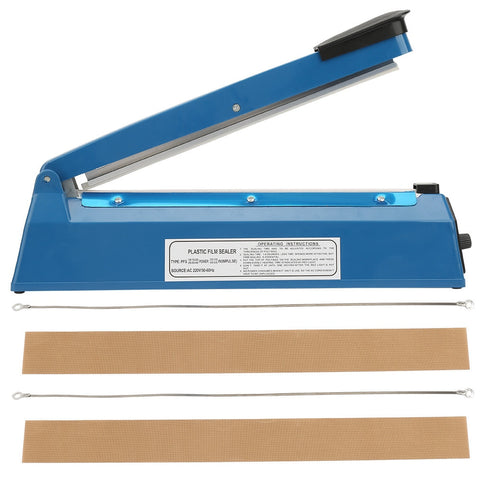 12in Metal Heat Sealing Impulse Manual Sealer
