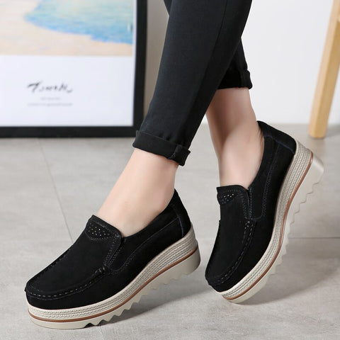 2019 Spring Women Flats Shoes