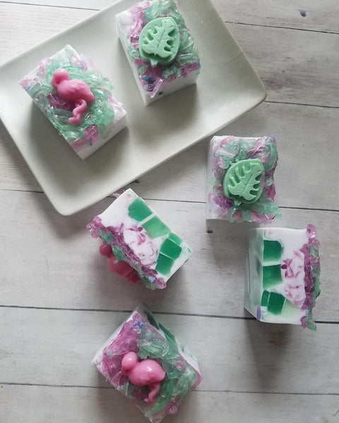 Tropical Soap Favors