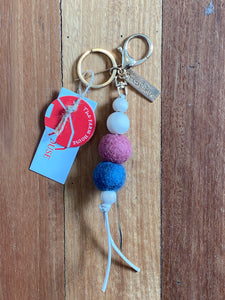 The Dorper - Felt and Timber Key ring