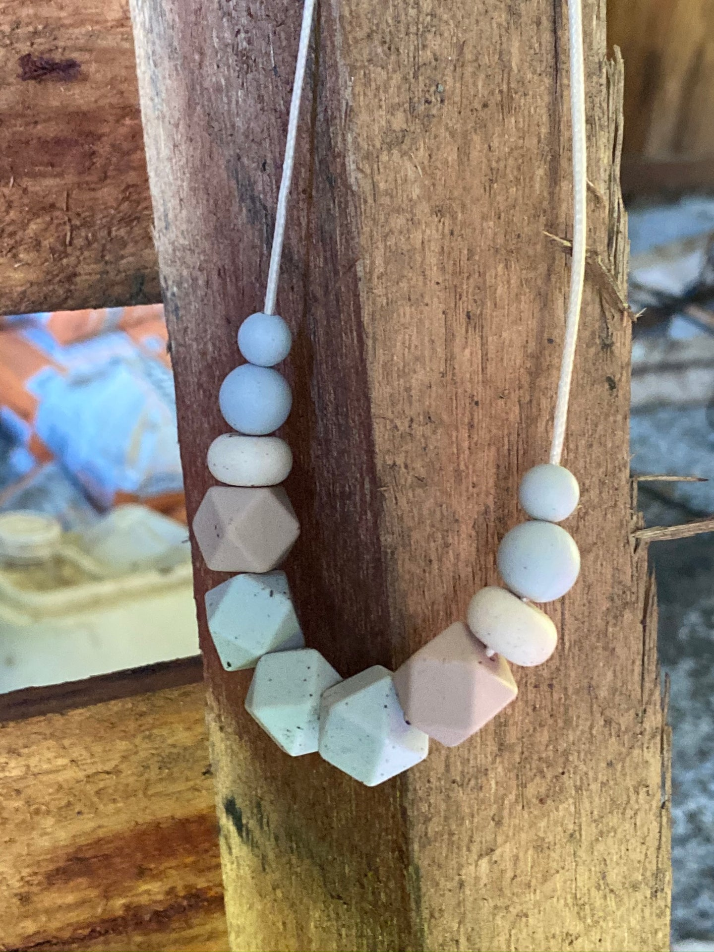 The Birch - Silicone Teething Necklace