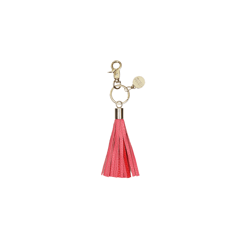 Red/Pink - tassel key ring