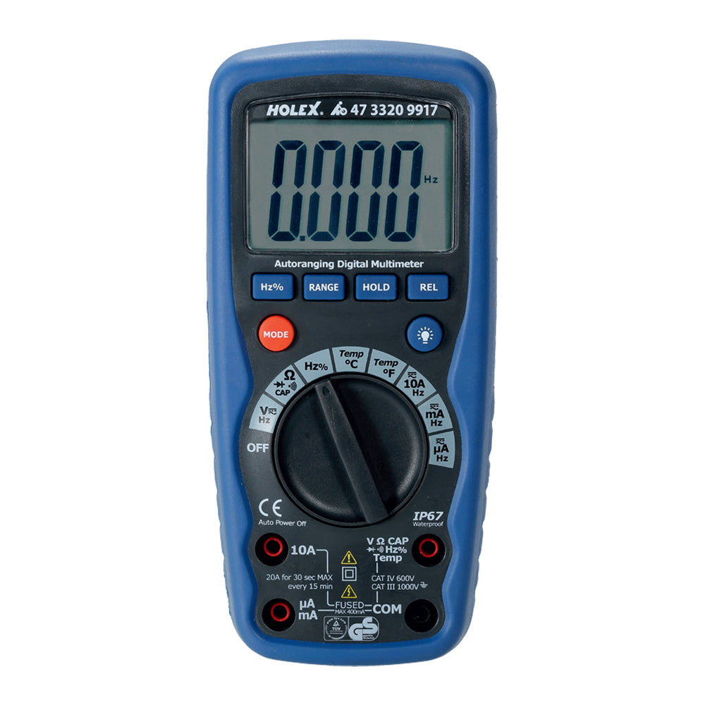 Multimeter IP 67