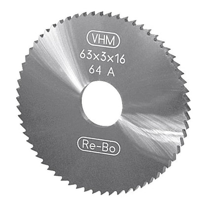 Solid carbide circular saw blade DIN 1837