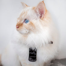 Load image into Gallery viewer, Lost and find dog tag personalized pet label cat ID tag style 01