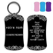 Load image into Gallery viewer, Lost and found dog tag personalized pet label cat ID tag style 08