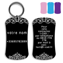 Load image into Gallery viewer, Lost and found dog tag personalized pet label cat ID tag style 04