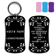 Load image into Gallery viewer, Lost and found dog tag personalized pet label cat ID tag style 05