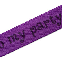 Load image into Gallery viewer, 5 Color choices 10mm satin labels personalized decor ribbons with custom text printing 100 pcs
