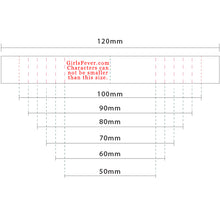 Load image into Gallery viewer, 15mm Personalized white satin textile clothing labels 100 pcs