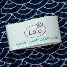 Load image into Gallery viewer, 17mm Personalized white satin textile clothing labels 100 pcs