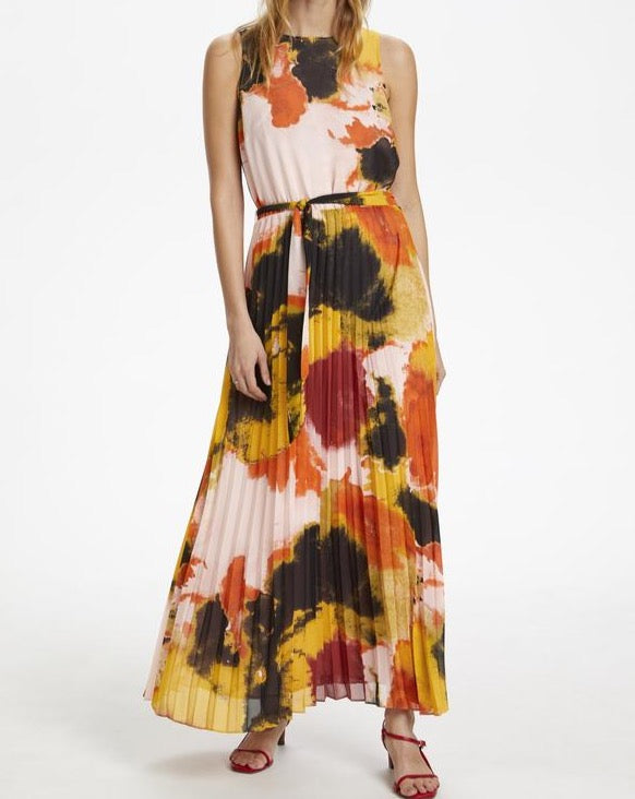 Watercolour Maxi Dress