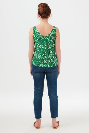 Sugarhill - Romy Painterly Spot Strappy Top