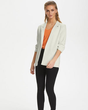 Soaked - Antique White Blazer
