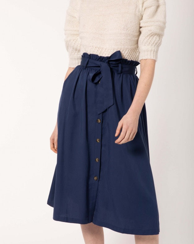 FRNCH - Navy Skirt