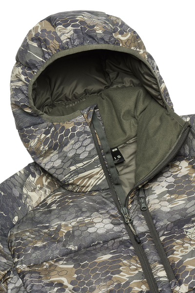 Alps Hooded Down Jacket