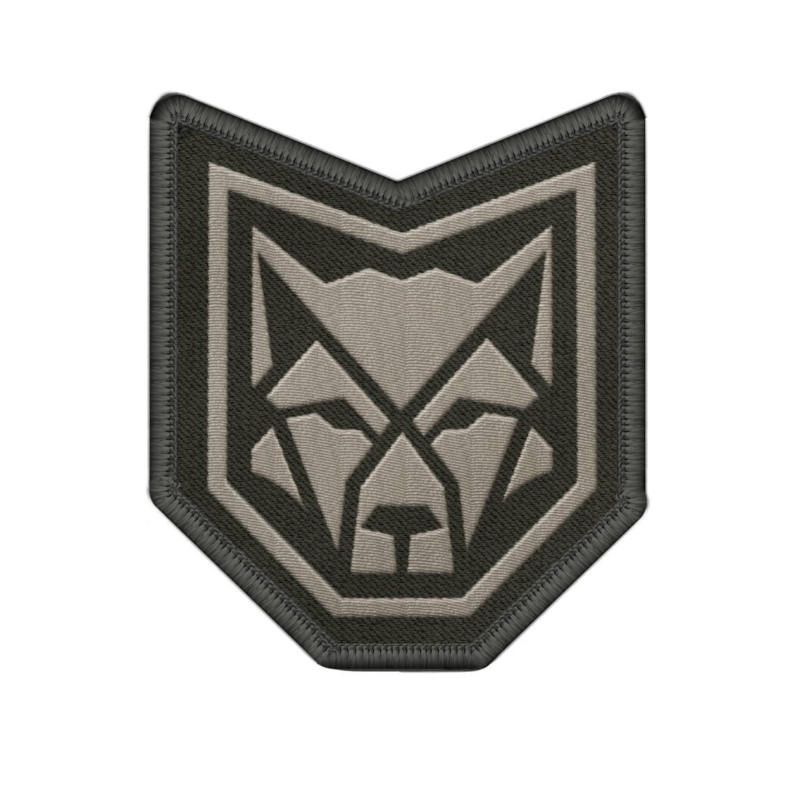 CANIS Wolf Logo Patch