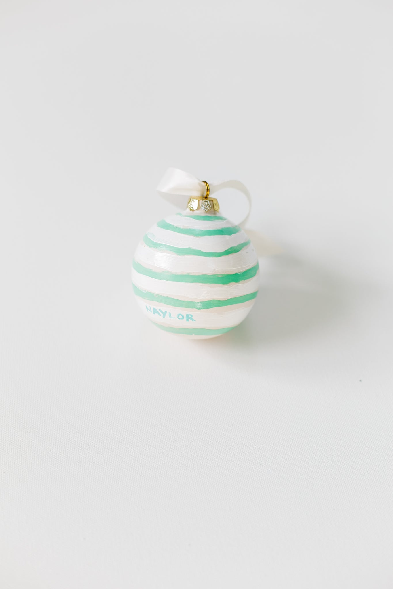 Peppermint Candy Stripes Ornament