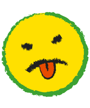PB1Z1082_Yuckface_Icon_4_green_outline