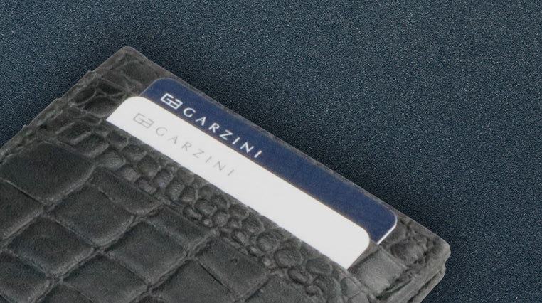 slim cardholder card sleeves garzini