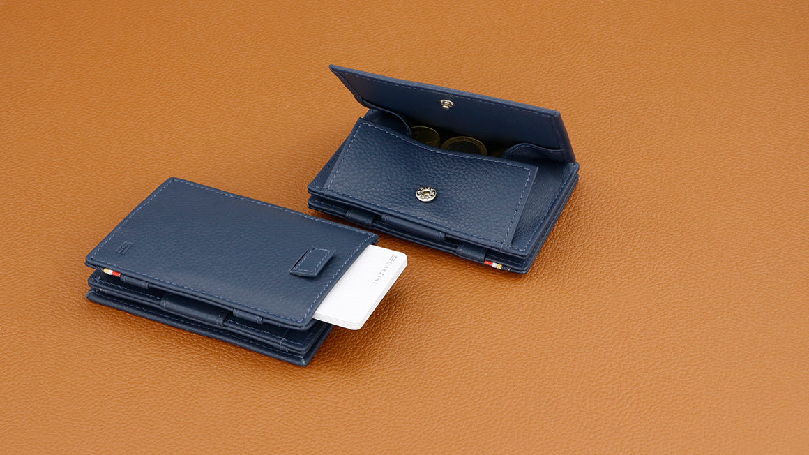 Cavare Magic Coin Wallet Card Sleeve Nappa