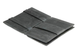 Essenziale Magic Coin Wallet Brushed - Brushed Black - 3