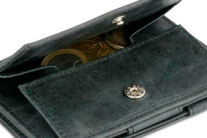 Essenziale Magic Coin Wallet Brushed - Brushed Black - 5