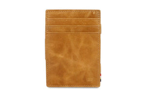 Essenziale Magic Coin Wallet Brushed - Brushed Cognac - 2